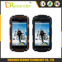 Android 4.4 MTK6572 Dual Core 3G GPS Smartphone Waterproof phone WIFI android smart phone