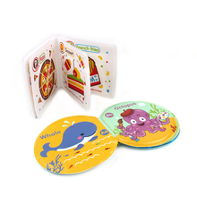 Educational toys soft plastic waterproof EVA baby bath book