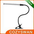 quality garranted 2016 newest designed LED Gooseneck clip desk lamp