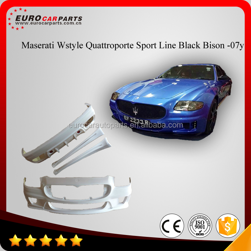Body kits fit for Maserati wald style Quattroporte Sport Line Black Bison -07Y FRP material