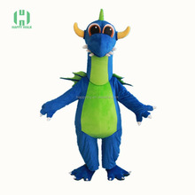 HI CE Blue cheap animal dinosaur mascot costumes for show