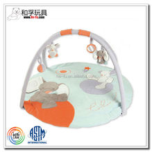 [ICITI Certificated factory] Customized baby play mats infant plush toys baby playgym