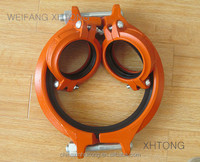 FM UL Listed Ductile Iron Pipe Coupling Rigid for Fire Protection