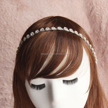 most fashion cheap hot selling flower girl tiara pattern