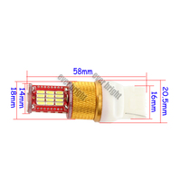 7440 4014 chip tuning light,accessories for car,led marker light