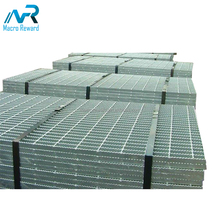 Best price hot dip galvanized drain cover steel grating Serrated bar grating