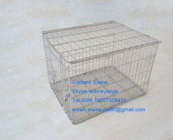 stainless steel kennel cage
