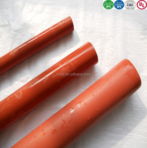 1kv 10kv 35kv medium wall heat shrink tube with adhesive red