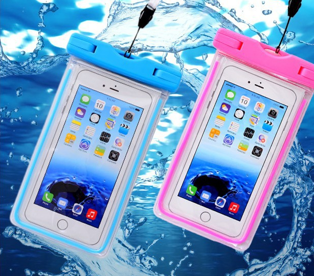 Smart phone waterproof unbreakable phone case,pvc mobile phone bag