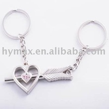 2012 newest metal lovers keychain