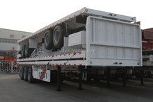 Fifth wheel equipment transport flatbed trailer for sale