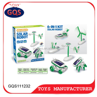 6 In 1 Solar Toys Robot