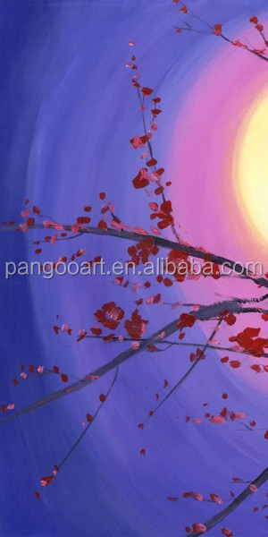 Natural Flower Handmade art oil painting on canvas