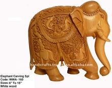 Wooden handicrafts for office decor
