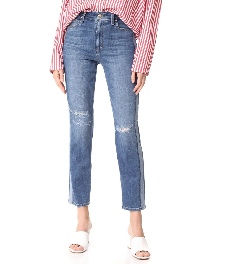 Latest fahion high quality bulk wholesale ladies jeans top design casual women straight jeans pants