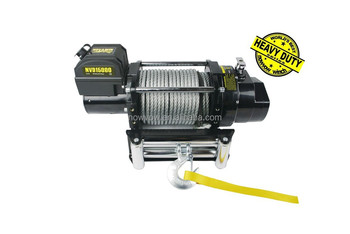 Electric Off-road Jeep Truck Fast LIne Speed Winch NVD16500(16500lbs) 12/24V