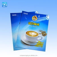 Printed Plastic bag fashion Tea and Soluble/instant coffee packing bag/vivid printed custom empty tea bag packing