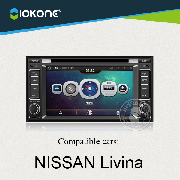 China factory offer OEM Central multimedia For Nissan Livina