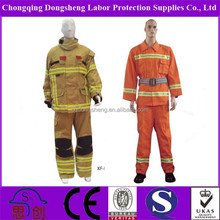 Fire protective clothing and safety equipment for fire rescue protection