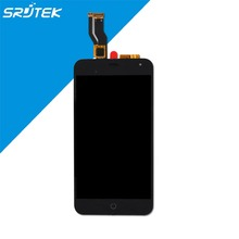 "Black Color For Meizu M2 Meilan 2 Meizu M2 mini 5.0"" LCD Screen Display+ Touch Digitizer Full Assembly With Frame"