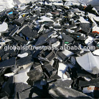 Crushed Plastics From Batteries Mostly PP