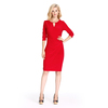 Wholesale Fashion Pretty Red Women Clothing women red dress