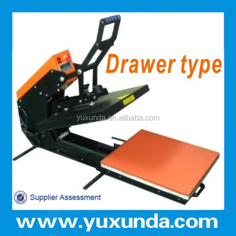 Best supplier for high pressure t-shirt plain heat press machine with 12 years experiences