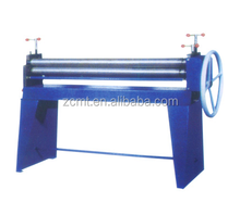 simple manual operate three-roll bending machine