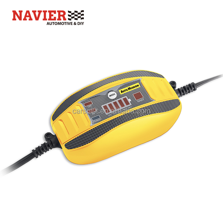 Automatic car vehicle battery charger battery tender 1A <strong>portable</strong> battery maintainer easy starter