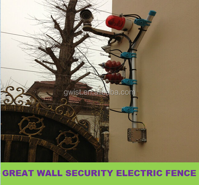 high voltage electric fence energiser for elephant horse livestock fencing security electric fence perimeter protection