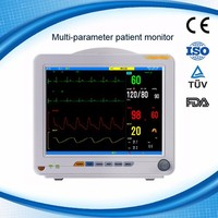 "MSLMP03- Hot sale 12.1"" portable multi-parameter patient monitor on Alibaba"