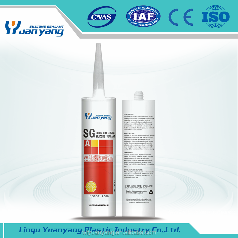High Pressure Sealant Heat Resistant Glass Sealant