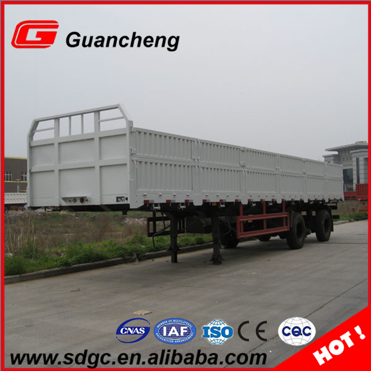 Factory support leg wall side 3 axle cargo trailer enclosed truck side wall semi trailer