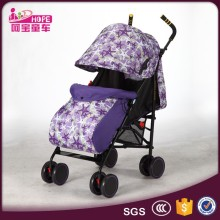 Umbrella baby stroller type polyester oxford material lightweight design used baby carriage