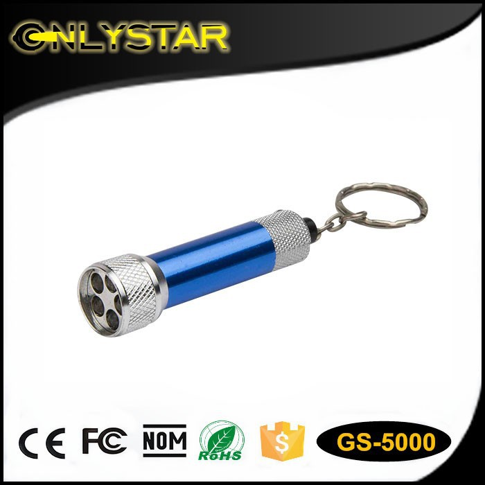 aluminium led mini flashlight led torch keyring, chinese led flashlight keychain, cheap keychain led flashlight wholesale