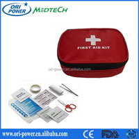 OP manufacture wholesale CE FDA ISO approved emergency roadside first aid kit for auto