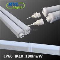 CE RoHS IP66 IK10 180lm/W linkable linear led tunnel light led high bay lighting