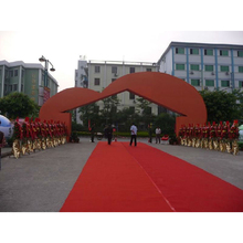 China cheap red walkway/corridor Exhibition carpet factory