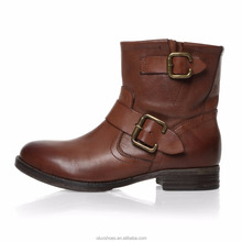 NR007 2017 Brown Color Comfort Casual Boots For Girls