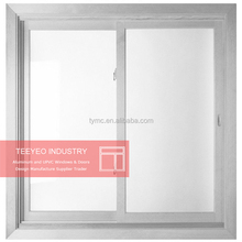 Teeyeo sliding upvc windows/pvc profile/price for sliding window locks