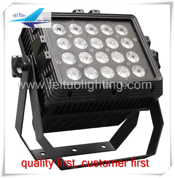 20*15 watt rgbwa ip65 outdoor led wall washer light