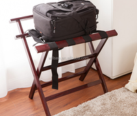 PR-1033,Wooden Hotel Room Suitcase Rack,Hotel Room Foldable Wooden Luggage rack