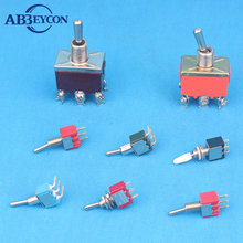 6-Way On Off On Momentary Waterproof Toggle Switch for Lamp