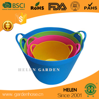 ccolorful and flexible china produce kids bath tubs,dutch bucket,plastic bucket manufacturing fishing vessel for sale