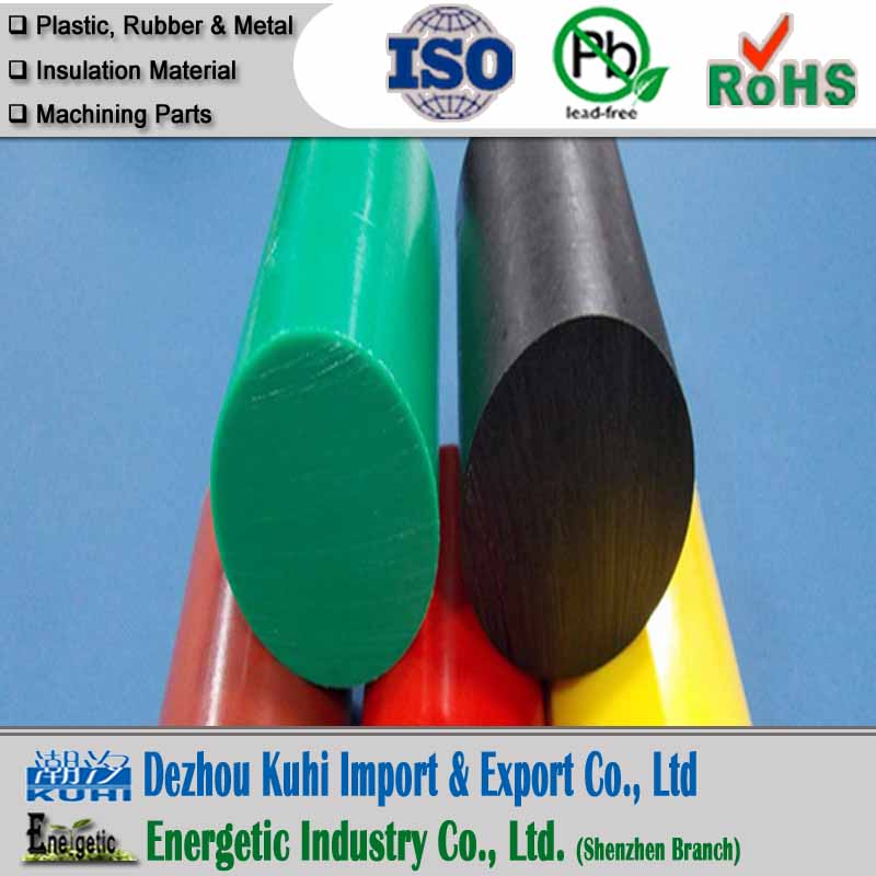 Engineering plastic HDPE rod with wear resistant