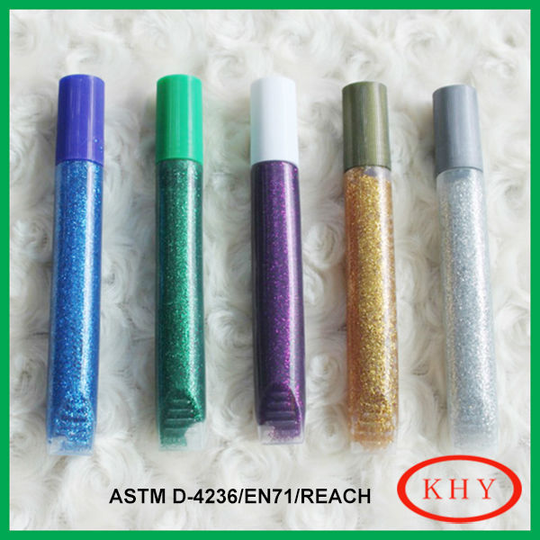 Conform to ASTM D-4236 multi-color glue for temporary tattoo
