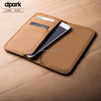 Wholesale price genuine leather mobile phone case for iphone 6 6s plus case