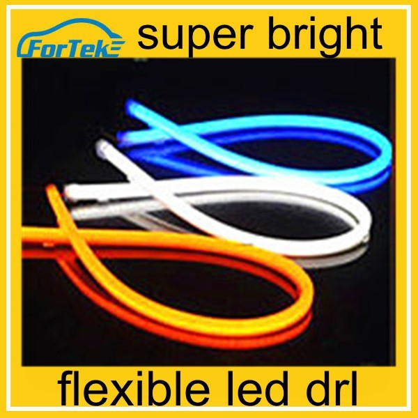 wholesale LED flexible drl universal car led turn signal daytime running light