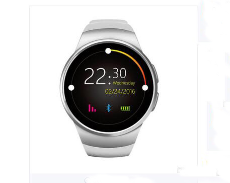 KW18 GSM Smart Watch Phone Bluetooth SmartWatch with Heart Rate Monitor 1.3 Inch IPS LCD Full Round Screen
