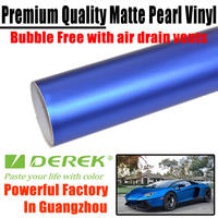 New Blue Color Chrome Film to Protective Car Paint with Air Free Channels
